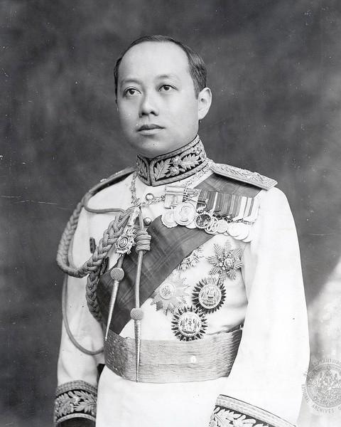 König Vajiravudh (Rama VI) regiert von 1910  bis 1925