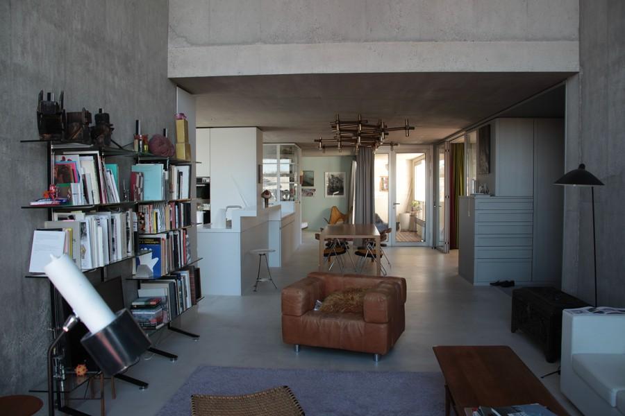 Die ganze Wohnung; ein offener Raum