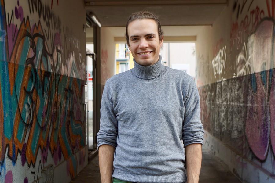 E: Civic Media Verantwortlicher Elio Donauer