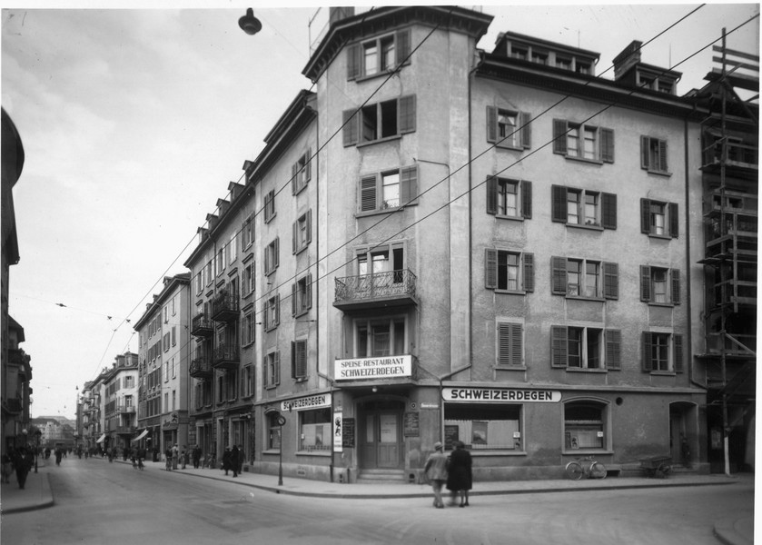 Früher Schweizer Degen