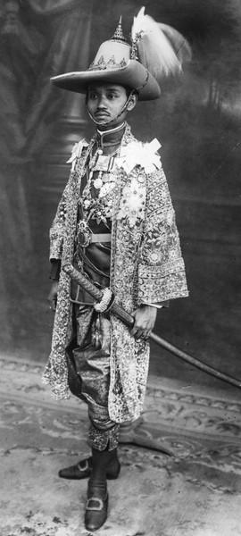 Sein Nachfolger König Prajadhipok (Rama VII)
