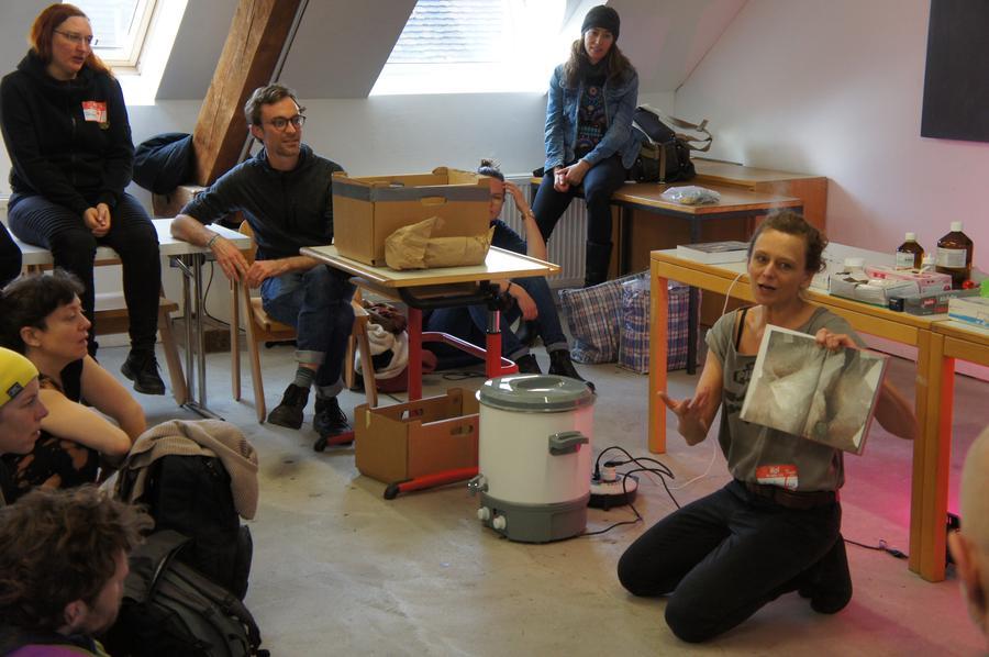 Am Openki Workshop-Festival wurden 56 Kurse gegeben. So wurden zum Beispiel Pilze gezüchtet..