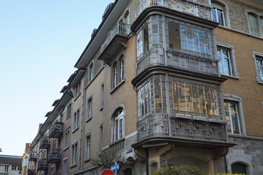 Viele schöne Bauten...