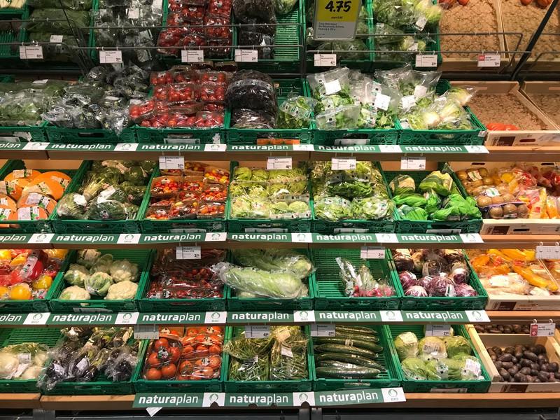 Sieht aus wie beim Gemüsemarkt.