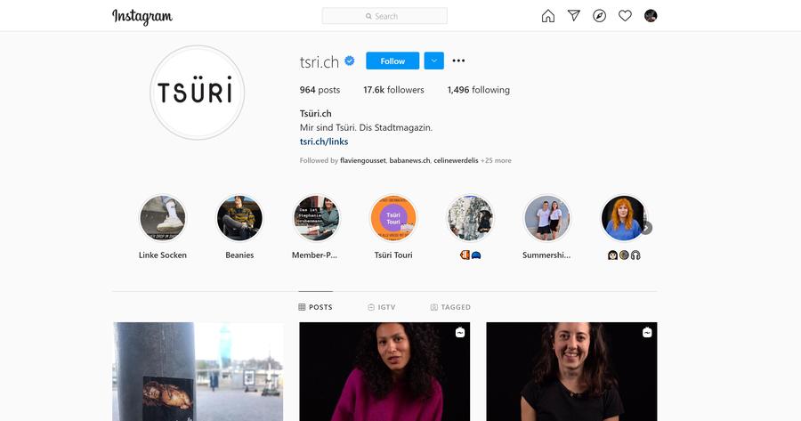 Das Instagram Profil würde bereits durch Thumbnails in den Highlight visuell attraktiver und professioneller wirken