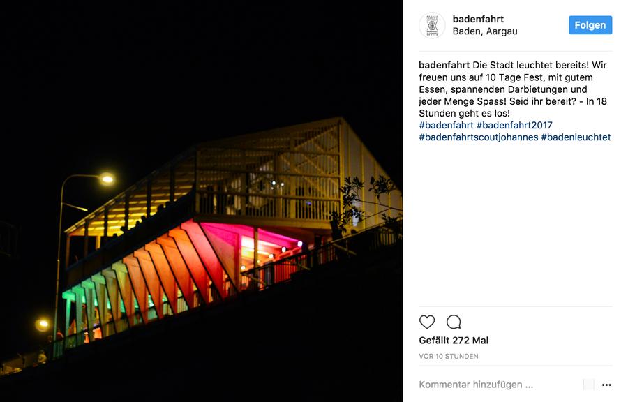 Instagram: badenfahrt