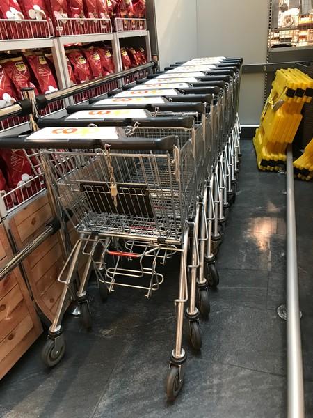 Je grösser der Einkaufswagen, desto mehr wird eingekauft.