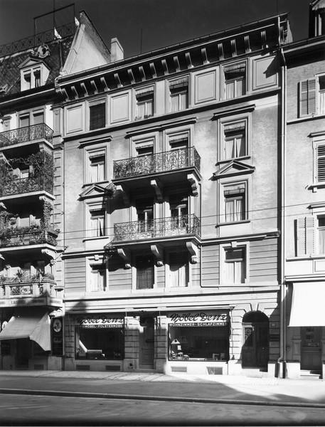 Die Langstrasse 10 um 1946