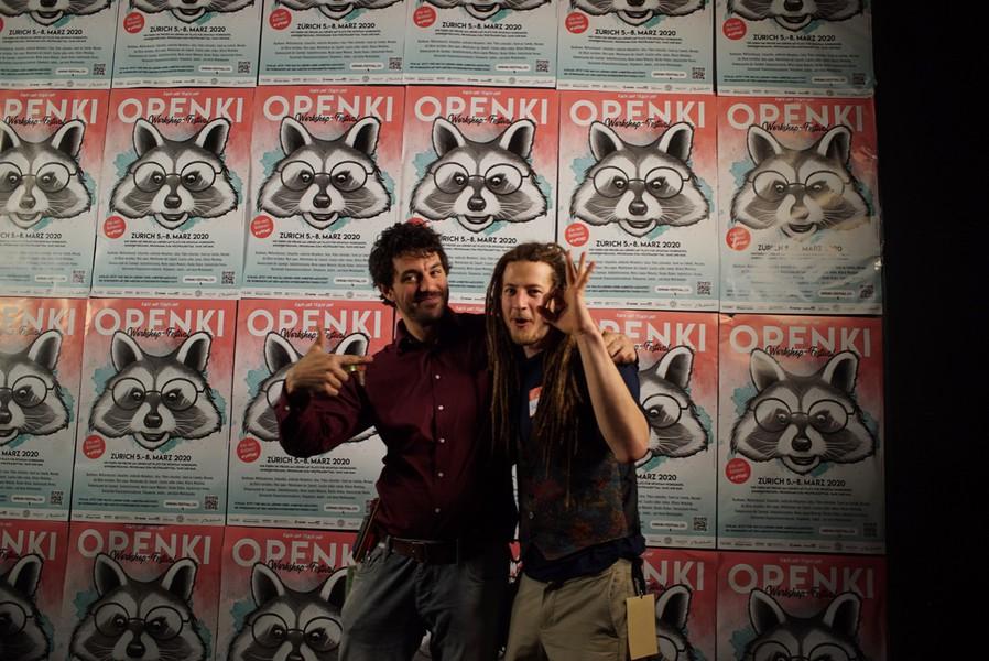 Urban (links) und Felix vom Openki-Team.