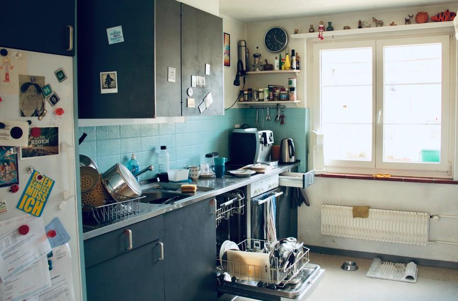 Belebtes Quartier, belebte Küche.