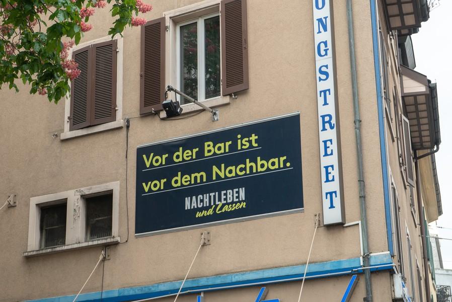 Der Lärm an der Langstrasse führt in der Nachbarschaft immer wieder zu hitzigen Diskussionen, Foto: Artemisia Astolfi