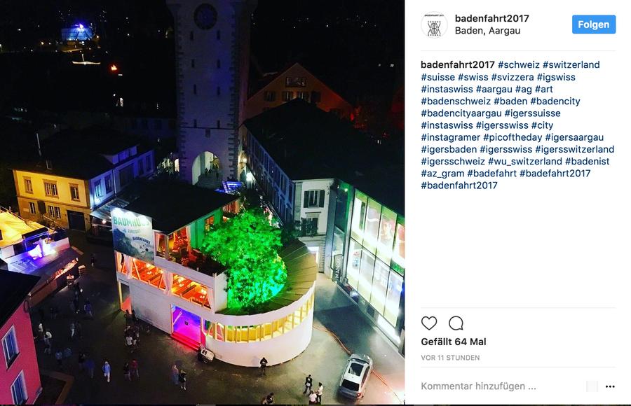 Instagram: badenfahrt2017